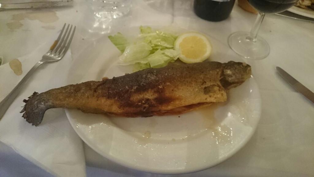 夕食のメインは鱈